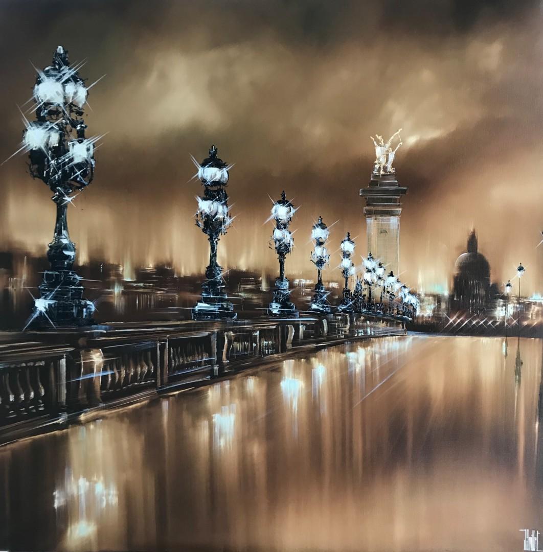 """Jerome Guillet - """"Golden Bridge"""" (Alexandre III-Paris)"""