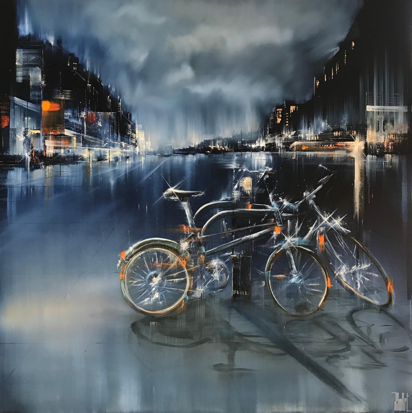 Jerome Guillet - Des vélos sur la place
